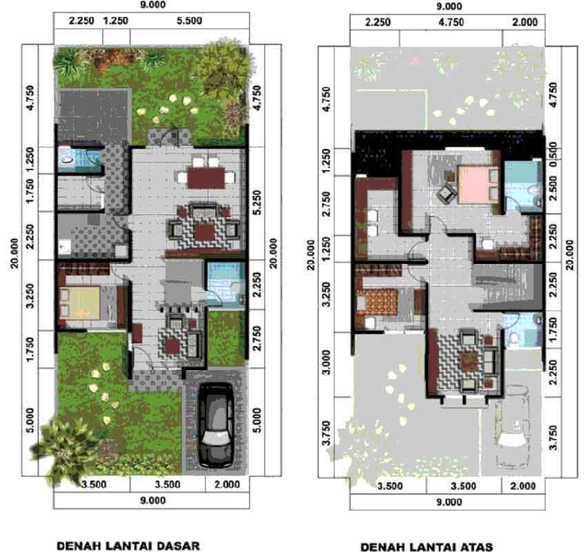 tips merancang denah rumah untuk rumah di perumahan kpr
